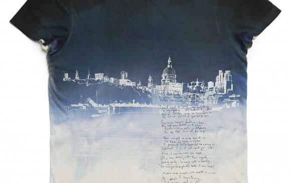 'Life Restored' Jonny Benjamin garment